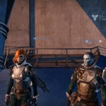 I found this Awoken Male Hunter with the same armor as me